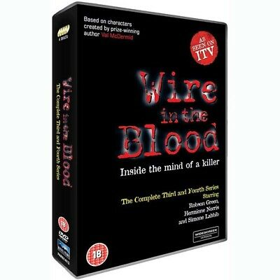 £9.99 • Buy Wire In The Blood - Complete Series 3 & 4  -  5027182614134