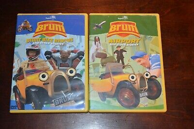 £54.32 • Buy Pair Of Rare Brum Dvd's Stunt Bike Rescue & Airport And Other Stories