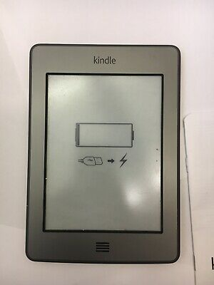 £8.99 • Buy Amazon Kindle Touch E-Reader Grey