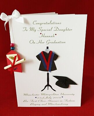 £6.50 • Buy  LARGE PERSONALISED Graduation Card Choose Your Design