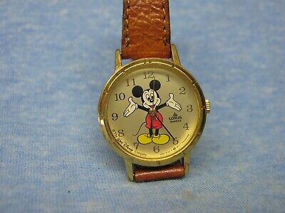 $ CDN9.64 • Buy Women's MICKEY MOUSE Watch By LORUS W/ New Battery