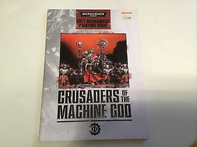 AU45.34 • Buy Crusaders Of The Machine God Cult Mechanicus Painting Guide Warhammer 40k Gw