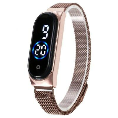 $ CDN12.74 • Buy Women Watch Led Magnetic Waterproof  Women's LED Watches Fashion Touch Screen