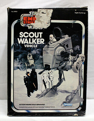$ CDN181.48 • Buy Vintage Star Wars Vehicles Boxed Scout Walker C8 With C4 Box (Missing 1 Decal)