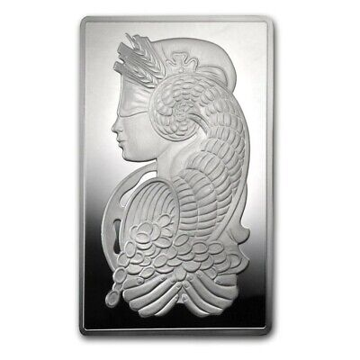 £416.62 • Buy 10 Oz Silver Bar - PAMP Suisse Fortuna - In Capsule W/Assay