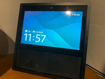 AU72.71 • Buy Amazon Echo Alexa Show -1st Generation. Great Condition Fully Working And Tested