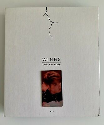 $ CDN408.71 • Buy BTS WINGS Concept Book With JUNGKOOK Lenticular Photocard Rare
