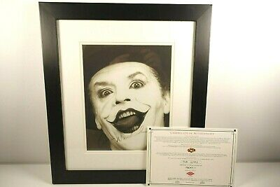 £279.99 • Buy Jack Nicholson Hand Signed Autograph  The Joker  Framed Photo With C.O.A