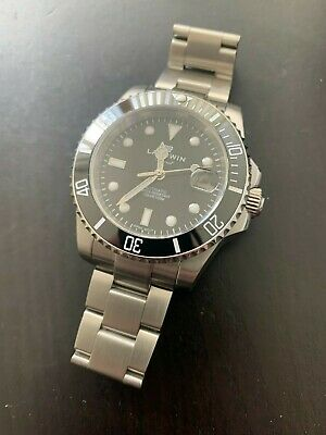 £75 • Buy Divers Watch - Submariner Homage - Landwin - Seiko NH35A Movement - Immaculate