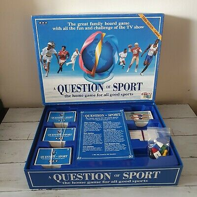 £9.98 • Buy A Question Of Sport Board Game 3rd Edition Update- 1994 - Fast Dispatch
