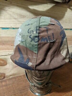 $400 • Buy Post Vietnam M1 Helmet With Liner And Original Cover Extremely Rare!
