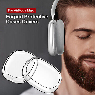 $ CDN7.11 • Buy Sleeve Protector TPU Headphones Case Transparent Cover For AirPods Max