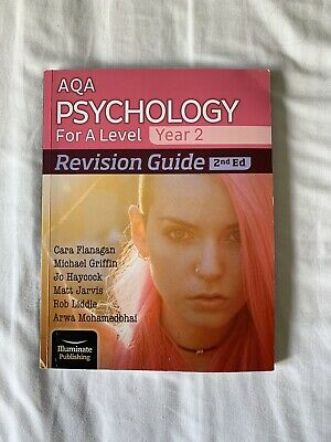 $ CDN22.41 • Buy AQA Psychology A Level 2nd Edition Revision Guide