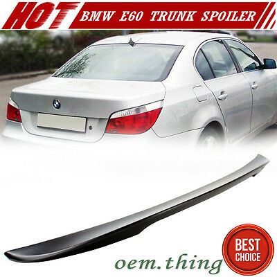 $ CDN159.77 • Buy Painted Fit FOR BMW 5-Series E60 4D High Kick P Style Trunk Spoiler 2010 M5 525i
