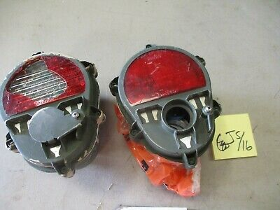 $199 • Buy 2 Used/Damaged Check-6 Brake Lights For Parts, For Military Vehicles