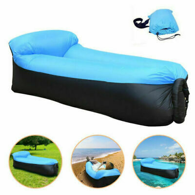 £11.99 • Buy Outdoor Sofa Camping Recliner Home Lazy Sofa Bed Beach Camping Bed