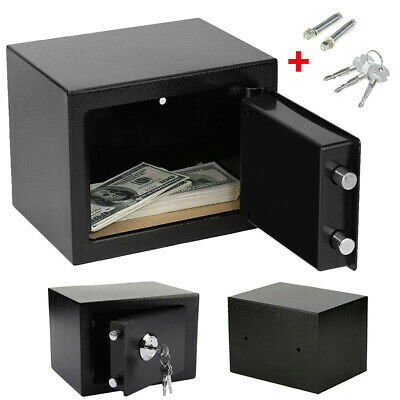 £18.66 • Buy Thicker Steel Safe Security  Home Office Money Cash Deposit Safety Mini Box