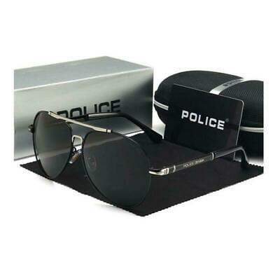 AU28.88 • Buy Men's Police Polarized Sunglasses 4 Colors With Box Classic Driving Glasses