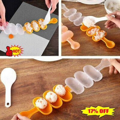 £2.24 • Buy Rice Ball Mold Sushi Balls Maker Mould Spoon Kitchen Utensil Cooking Tools
