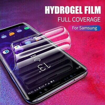$ CDN5.54 • Buy Top Quality Silicone Screen Protector For Samsung Galaxy S10 S9 S8 PLUS S Note