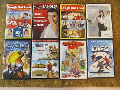AU1.27 • Buy 16 -  ADAM SANDLER - DVD Movie Collection Set  (Lot A241)