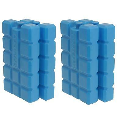 £7.95 • Buy 4 X 400g Ice Pack Cool Box Bag Ice Freezer Block Travel Camp Reuseable Board