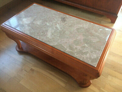 £30 • Buy G Plan Solid Marble Top Coffee Table With Solid Timber Frame
