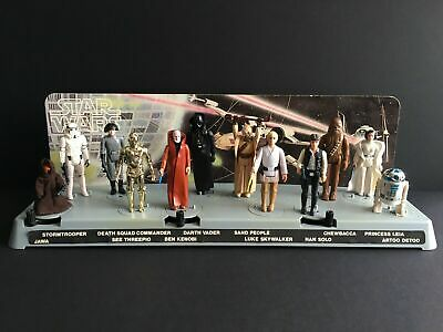 £475 • Buy Vintage Star Wars Figures First 12 1978 Early Bird Kit Mailer Display Stand