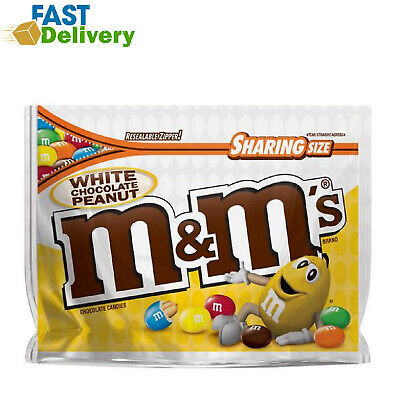 $4.97 • Buy M&MS Peanut White Chocolate Candy 9.6 Ounce Pouch