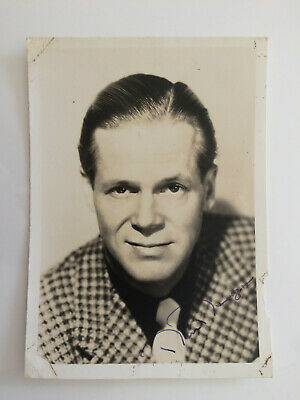 £19.95 • Buy Dan Duryea  - Too Late For Tears - Original Hand Signed Autograph