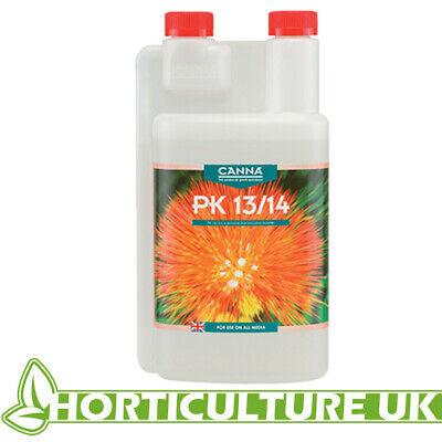£12.95 • Buy Canna PK 13/14 1 Litre Flowering Booster Blooming Phase Additive Huge Flowers