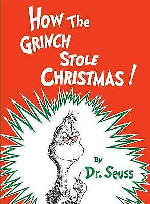 £3.28 • Buy How The Grinch Stole Christmas By Dr. Seuss, Hardcover Used Book, Very Good, FRE