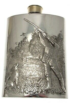 £65 • Buy Mens Hip Flask Hunting 6 Ounce Hip Flask Gamekeeper Gifts Shooting Gifts
