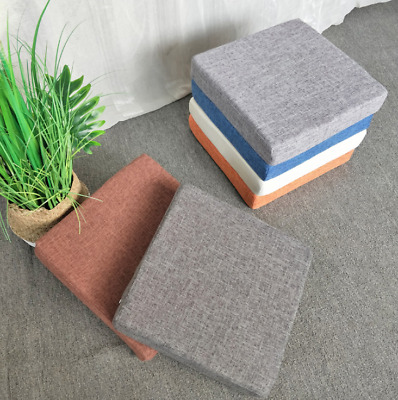 £12.96 • Buy Square Thick Booster Cushion Seat Pads Chair Patio Garden Armchair Dining Office