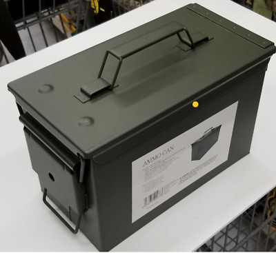 $22.59 • Buy .50 Cal Ammo Can Military Quality Ammunition Bullet Storage Box Brand New Green