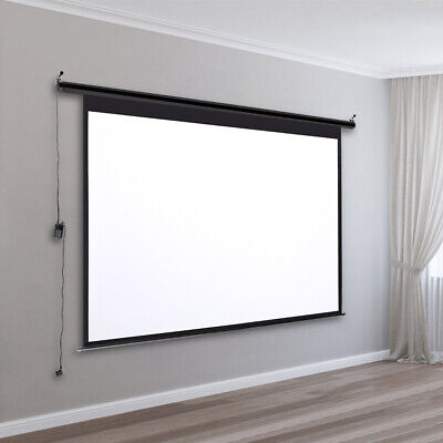 £65.95 • Buy 4:3 Projector Screen Manual Pull-Down/Electric Cinema Projection Screens 60-120