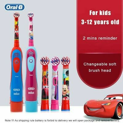 AU28.49 • Buy Oral-B Kids Electric Toothbrush Featuring PRINCESS CAR Children Toothbrushes