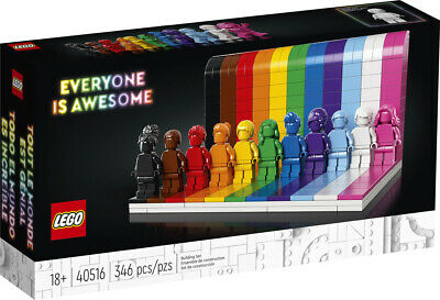 AU99.95 • Buy LEGO 40516 Everyone Is Awesome Brand New
