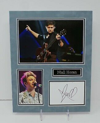 £99.99 • Buy Niall HORAN RARE Signed Mounted Photo Display AFTAL RD COA One Direction Singer