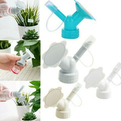 £1.99 • Buy 2 In 1 Plastic Nozzle For Flower Plant Waterers Bottle Watering Cans Sprinkler