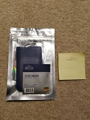 $750 • Buy BTS Official 5th Muster Ticket Holder + PC (Sealed) [US Seller]