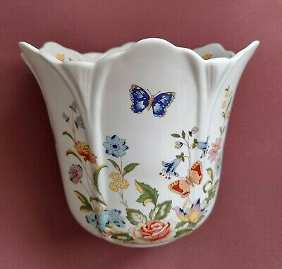 £24.95 • Buy Aynsley 'Cottage Garden' Collection. Bone China Jardiniere With Flared Top.
