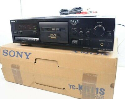 £295 • Buy SONY TC-K611S 3 HEAD Stereo Cassette Tape Deck BOXED - Serviced & Working