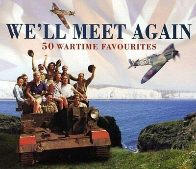 £2.99 • Buy We'll Meet Again 50 Wartime Favourites 2CD Set BRAND NEW & SEALED