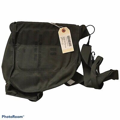 $13.99 • Buy Vintage US Army Gas Mask CANVAS BAG Chemical Biological Field M17 Series