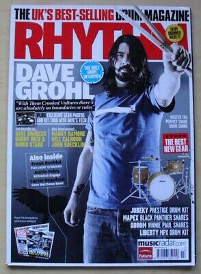 £8 • Buy Foo Fighters Rhythm #174 Magazine March 2010 Dave Grohl Cover With Feature Insid