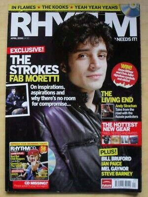 £8 • Buy Strokes Rhythm #123 Magazine April 2006 Fab Moretti Cover With Feature Inside Uk