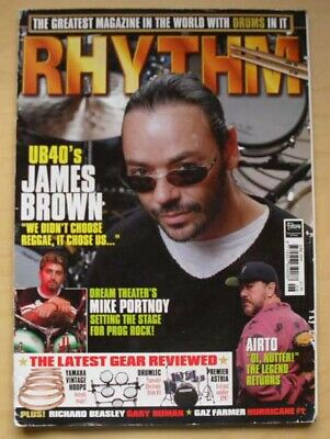 £8 • Buy Ub40 Rhythm Magazine June 1999 James Brown Cover With More Inside Uk