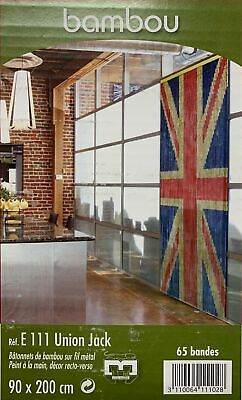 £12.97 • Buy Door Curtain Flies Design Deco Insects Bamboo London Union Jack Sizes 90x200cm