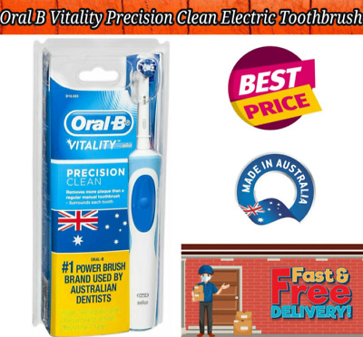 AU28.99 • Buy Oral B Vitality Precision Clean Electric Toothbrush With 2 New Refills